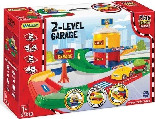 Wader Wader Play Tracks Garaz 2-poziomowy 1