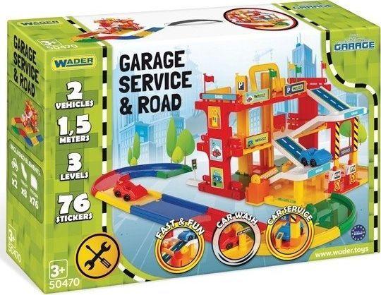 Wader Garaż Serwis z drogą 1