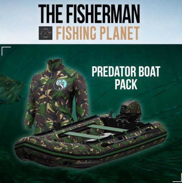 The Fisherman - Fishing Planet: Predator Boat Pack PC, wersja cyfrowa 1
