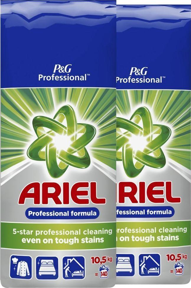 Ariel Zestaw - 2 x ARIEL Proszek do prania Regular 10,5kg 1