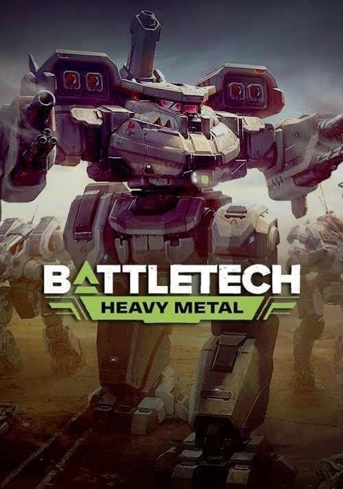 BATTLETECH Heavy Metal PC, wersja cyfrowa  1