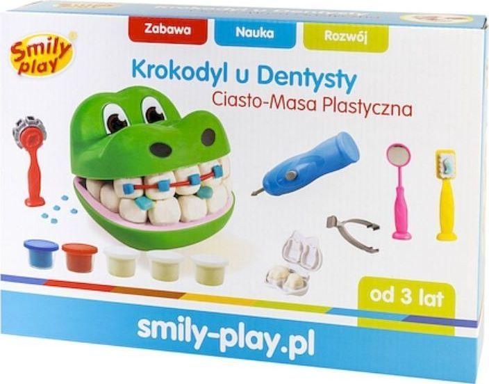 Smily Play Ciasto-Masa Plastyczna Krokodyl u dentysty 1