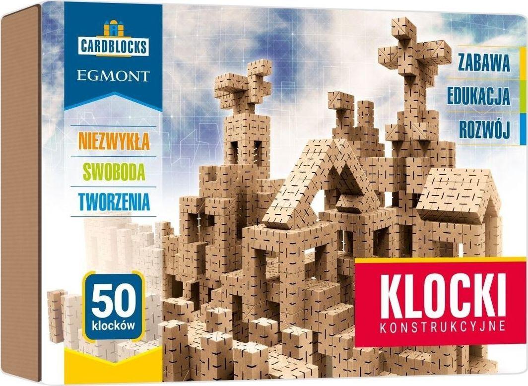 Egmont Kartonowe klocki konstrukcyjne zestaw podstawowy Cardblocks 1