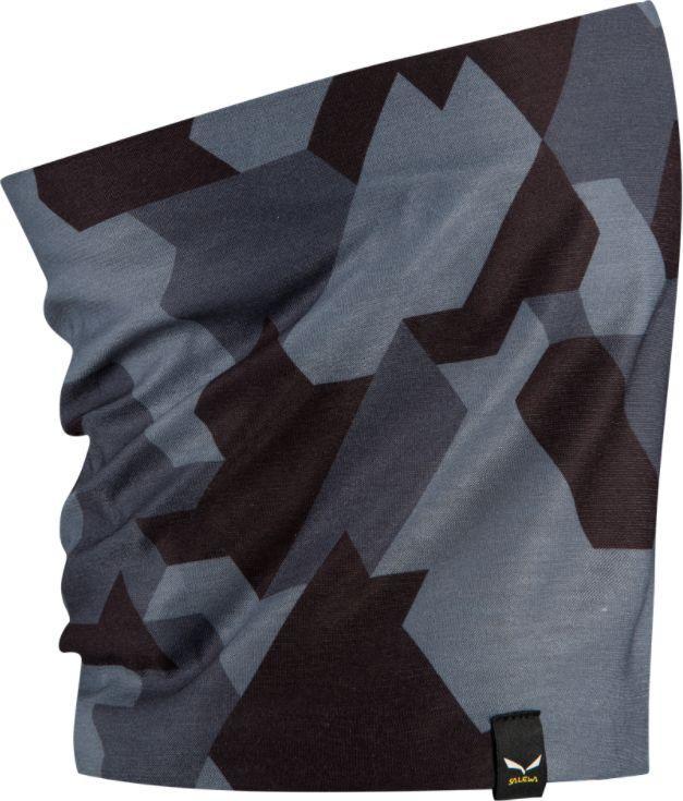 Salewa Chusta wielofunkcyjna Icono Headband black out camou 2 r. uniwersalny 1
