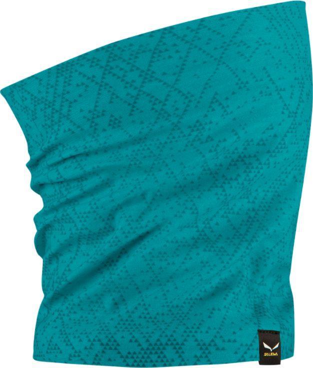 Salewa Chusta wielofunkcyjna Icono Headband ocean blue grid r. uniwersalny 1