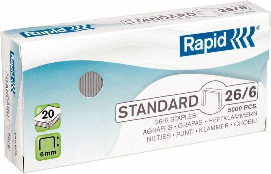 Rapid Zszywki 26x6 STD, 5000 szt. (24861800) 1