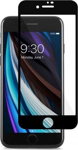 Moshi Szkło hybrydowe Moshi AirFoil Pro Apple iPhone SE 2020/8 (czarna ramka) 1