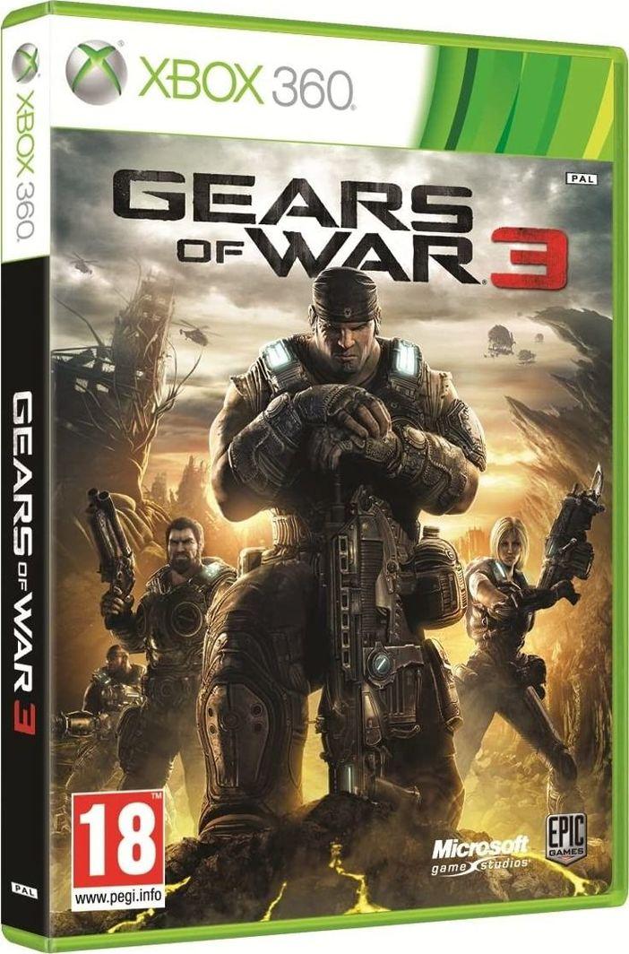 Gears of War 3 Xbox 360 1
