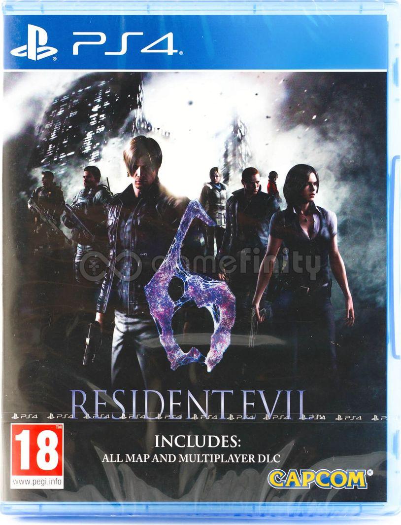 Resident Evil 6 PL PS4 1