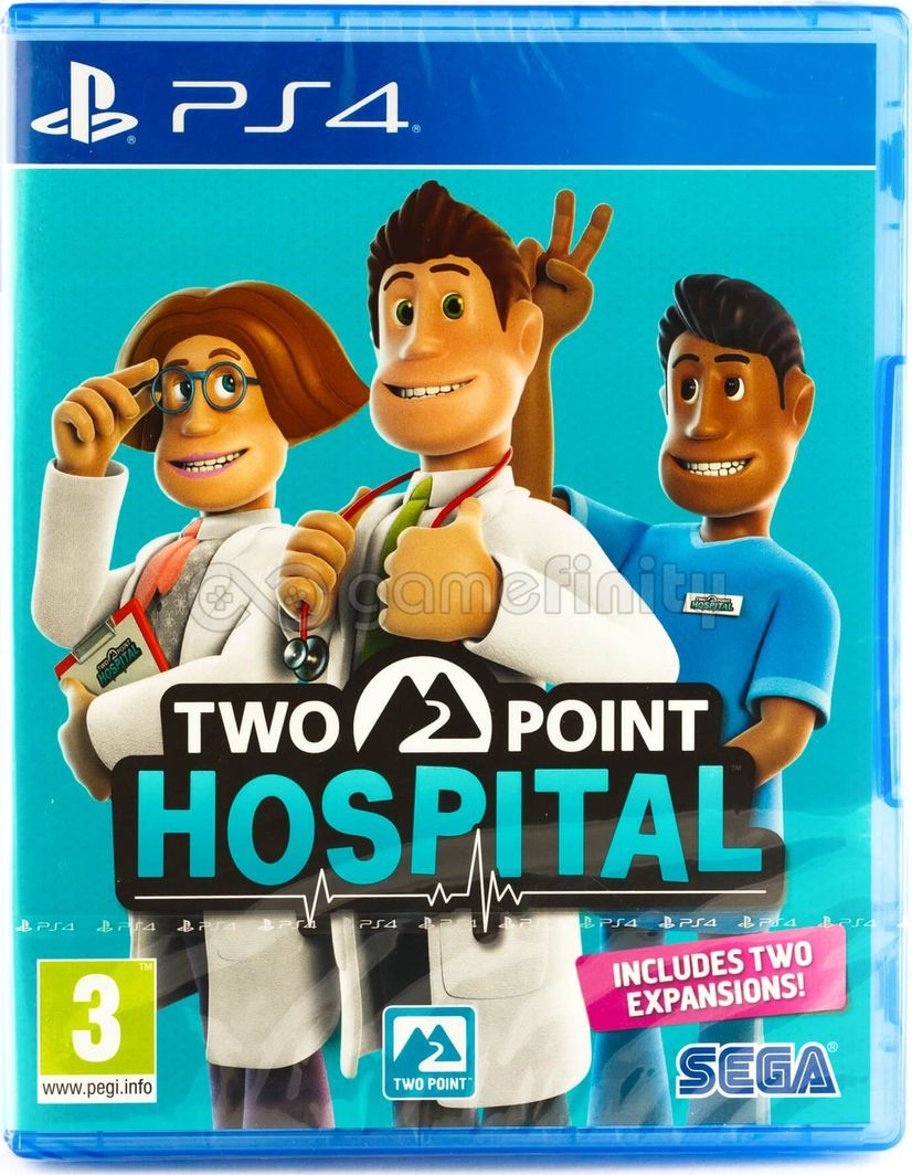 Two Point Hospital PL PS4 1