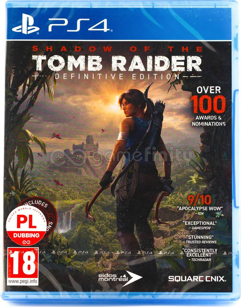 Shadow of the Tomb Raider: Definitive Edition PL (PS4) 1