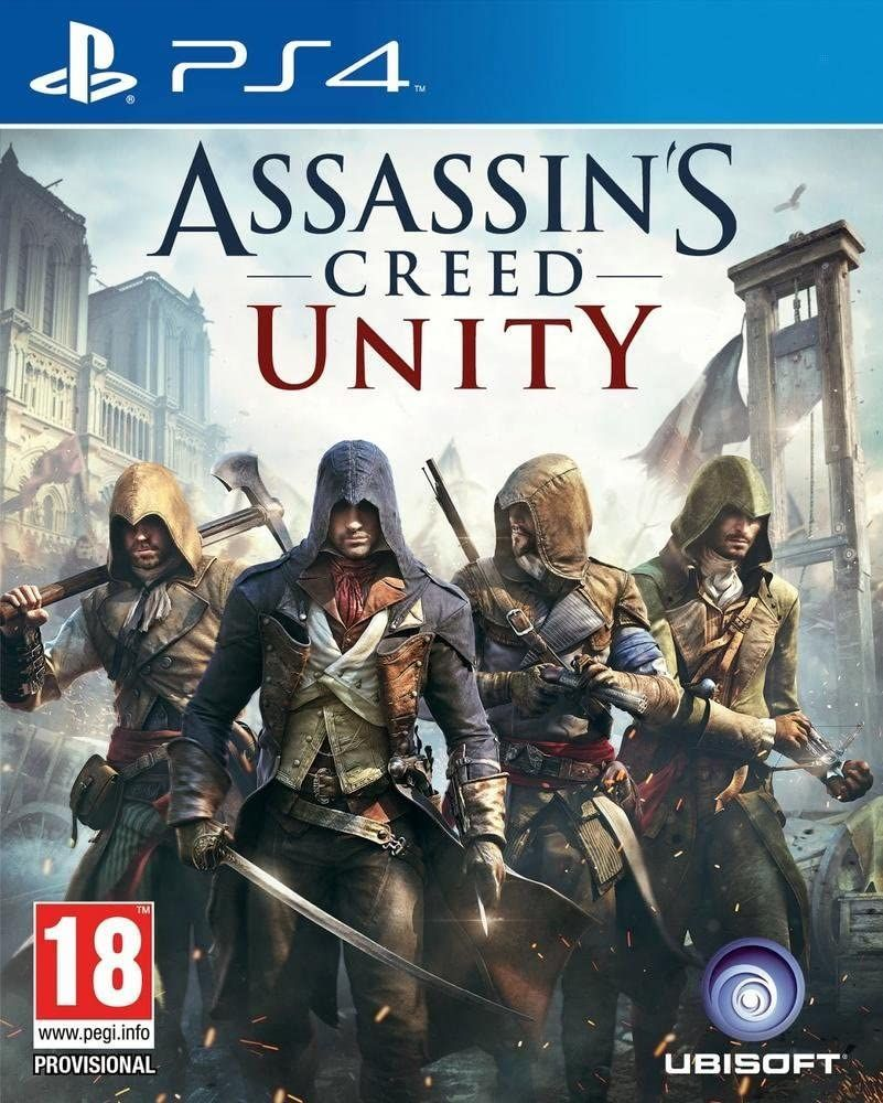 Assassin's Creed Unity PL PS4 1
