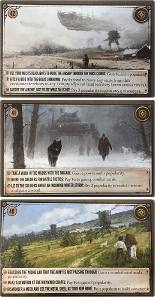 Phalanx GRA PLANSZOWA SCYTHE: karty spotkań (37-42) - dodatek PHALANX GAMES 1