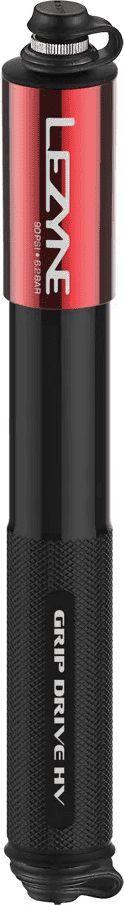 Lezyne Pompka ręczna LEZYNE GRIP DRIVE HV M ABS FLEX PRESTA/SCHREDER 120psi dł.długa 230mm czerwona (NEW) 1