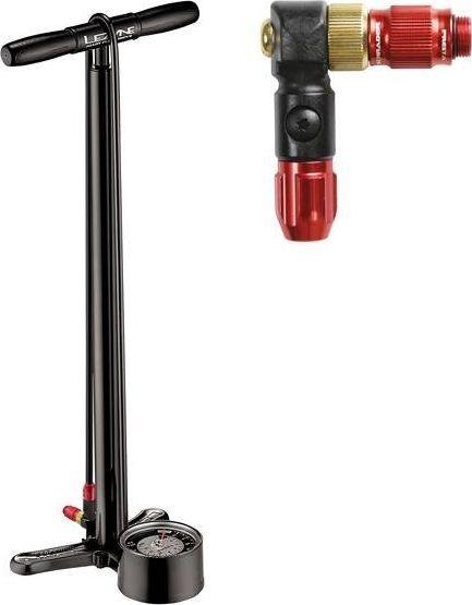 Lezyne Pompka podłogowa LEZYNE ALLOY FLOOR DRIVE ABS-1 PRO CHUCK 220psi czarna 1