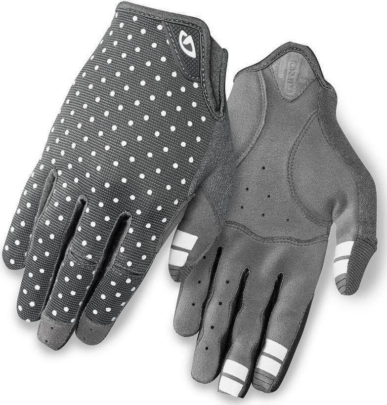 Giro Rękawiczki damskie La Dnd długi palec dark shadow white dots r. XL  1