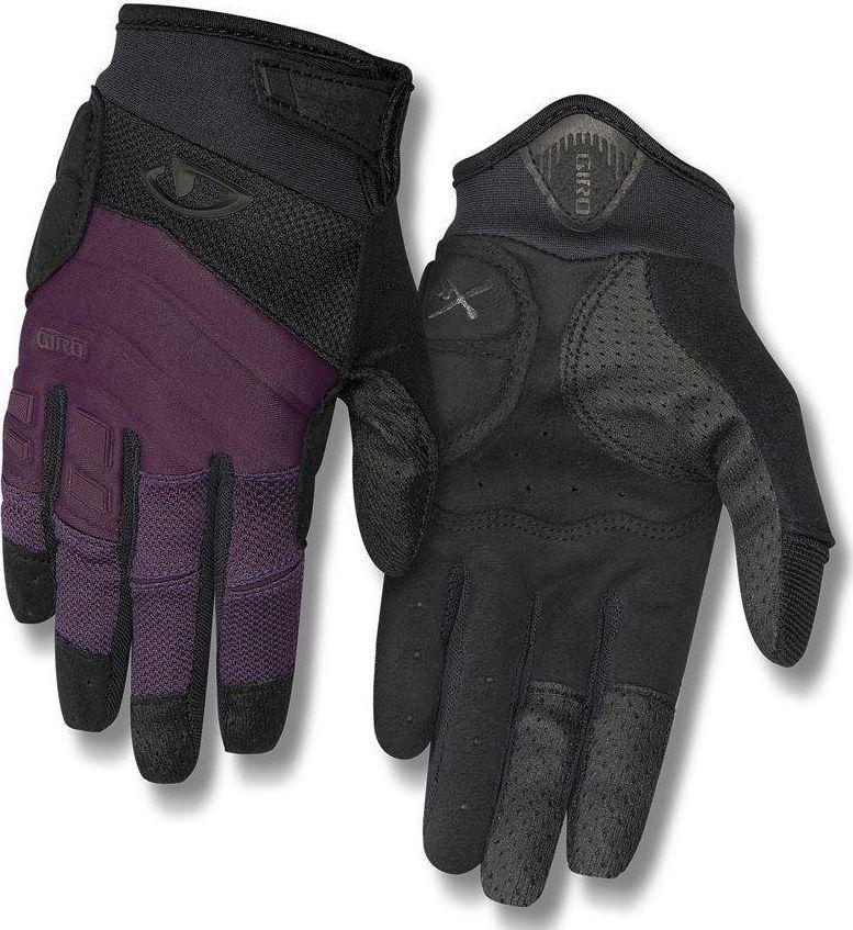 Giro Rękawiczki damskie Xena długi palec dusty purple black r. S  1