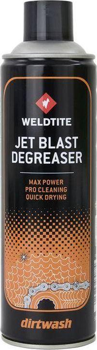 Weldtite Odtłuszczacz do łańcuha WELDTITE DIRTWASH JET BLAST DEGREASER Spray 500ml (NEW) 1