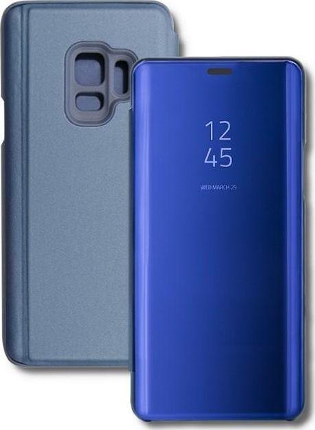 Qoltec Etui Qoltec do Samsung Galaxy S9   flip cover   niebieskie 1