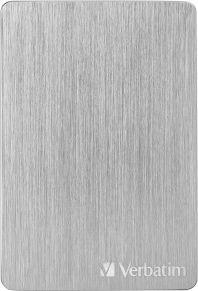 Dysk zewnętrzny Verbatim HDD Store 'n' Go ALU 1 TB Srebrny (53663) 1