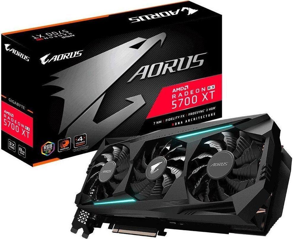Karta graficzna Gigabyte Aorus Radeon RX 5700 XT 8GB GDDR6 (GV-R57XTAORUS-8GD 2.0) 1