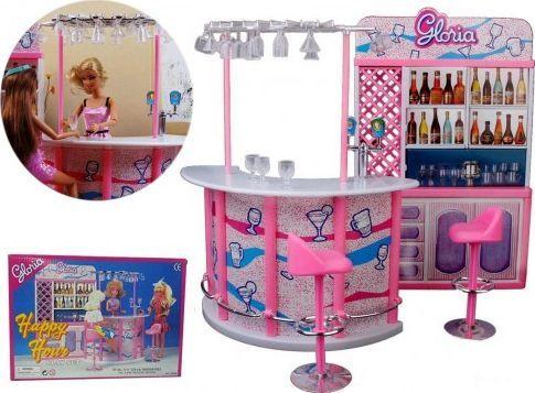 EduCORE Hotel bar kawiarnia cukiernia restauracja meble dla Barbie 1