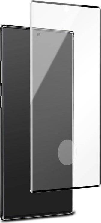 Puro PURO Premium Full Edge Tempered Glass Case Friendly - Szkło ochronne hartowane na ekran Samsung Galaxy Note 20 (czarna ramka) 1