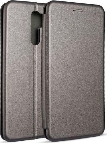 Etui Book Magnetic Xiaomi Redmi 9 stalo wy/steel 1