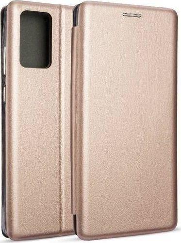 Etui Book Magnetic Samsung Note 20 N980 różowo-złoty/rose gold 1