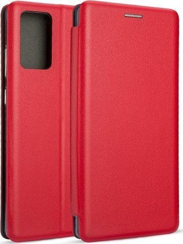 Etui Book Magnetic Samsung Note 20 N980 czerwony/red 1