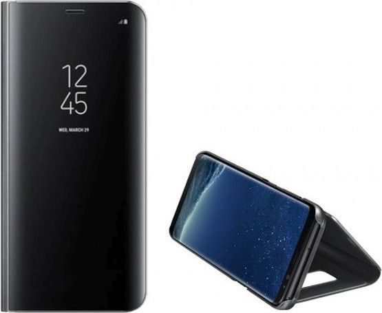 Etui Clear View Samsung Note 20 N980 czarny/black 1
