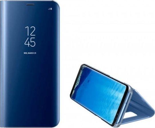 Etui Clear View Samsung A21 A215 niebieski/blue 1