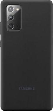 Samsung Etui Samsung EF-PN980TB Note 20 N980 czarny/black Silicone Cover 1