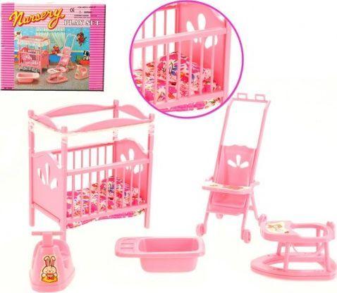 EduCORE pokój dziecka łóżeczko mebelki Barbie 1