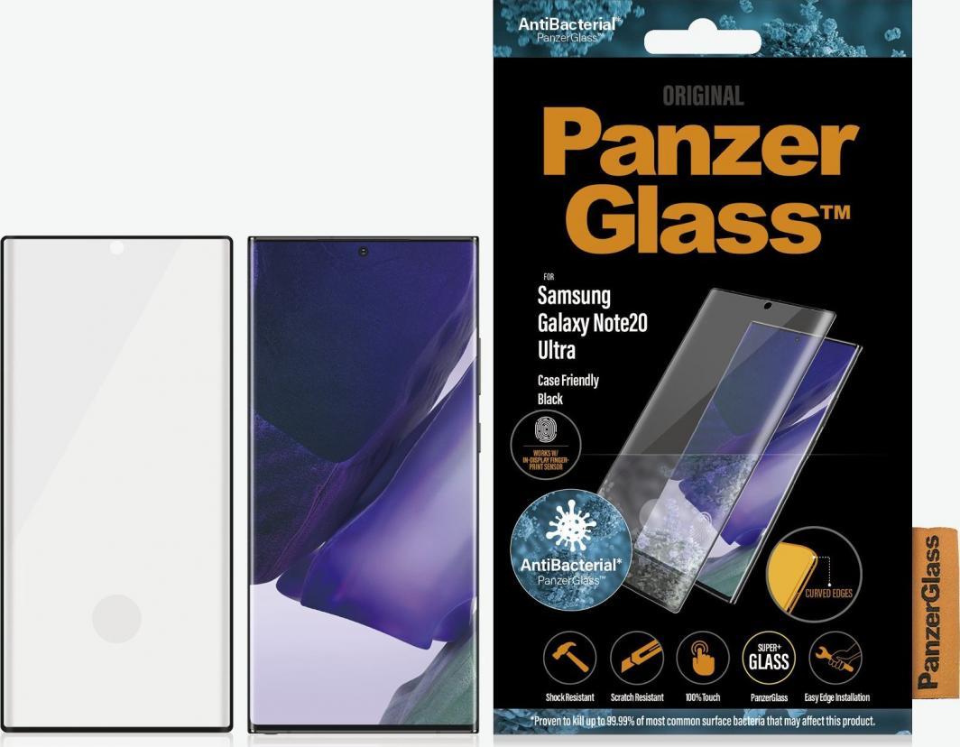 PanzerGlass Szkło hartowane do Samsung Galaxy Note20 Ultra Case Friendly Black (7237) 1