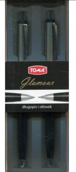Toma Zestaw Glamour długopis + ołówek TOMA 1