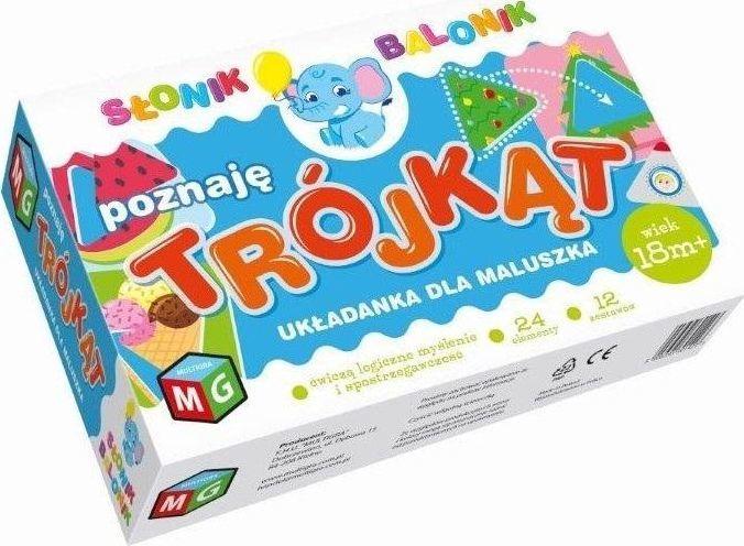 Multigra Poznaję trójkąt - Słonik Balonik 1