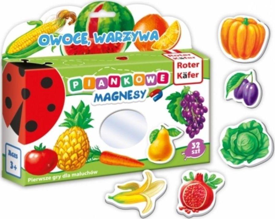 Roter Kafer Mój mały świat magnesów Owoce i warzywa 1