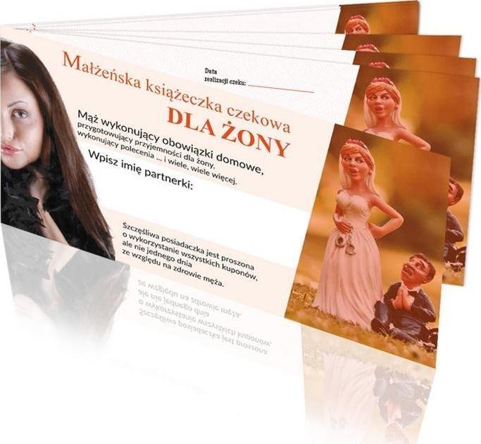 GrajmyRazem Książeczka czekowa dla Żony 1