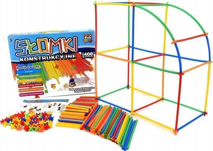 Pro Kids Słomki konstrukcyjne 408el. 3+ Pro Kids 1