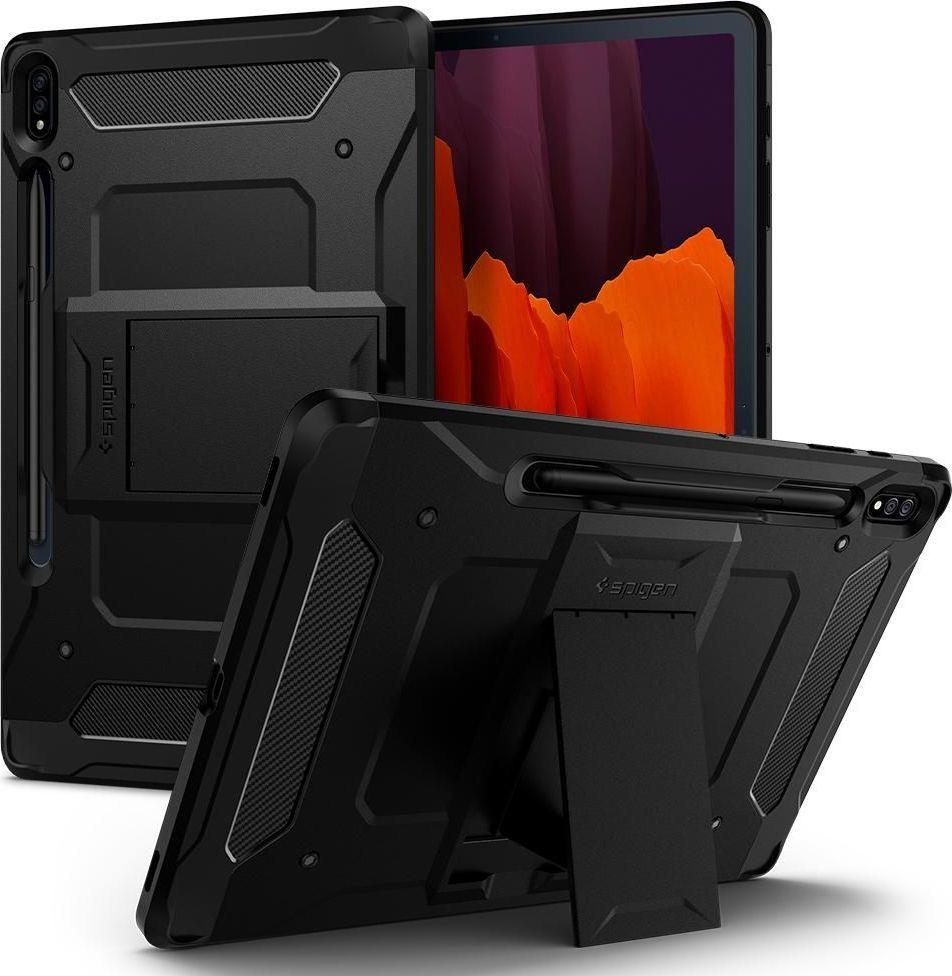 Etui do tabletu Spigen SPIGEN TOUGH ARMOR PRO GALAXY TAB S7+ PLUS 12.4 T970/T976 BLACK 1