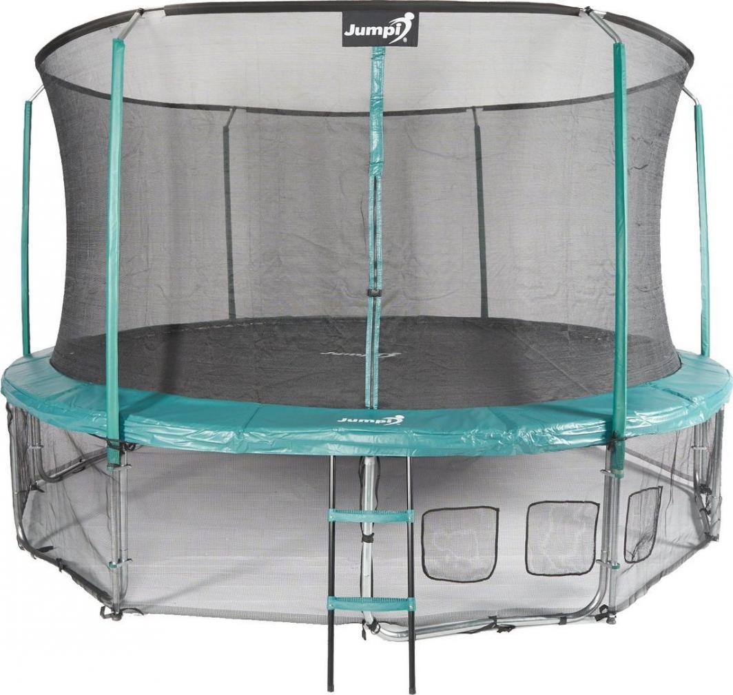 Jumpi Trampolina ogrodowa Maxy Comfort z siatką wewnętrzną 14FT 435cm 1