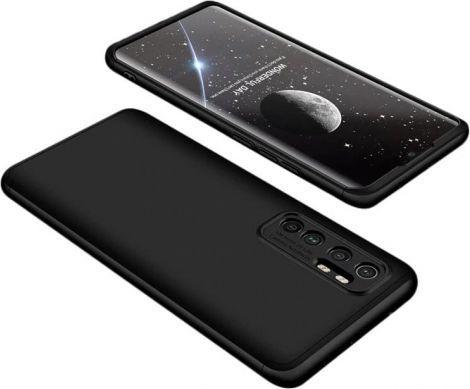 360 case GKK 360 3w1 Etui Xiaomi Mi Note 10 Lite Czarne 1