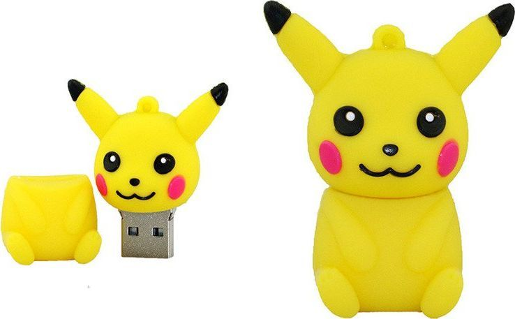 Pendrive Dr. Memory PENDRIVE PIKACHU PREZENT Pokemon GO USB Flash uniwersalny 1