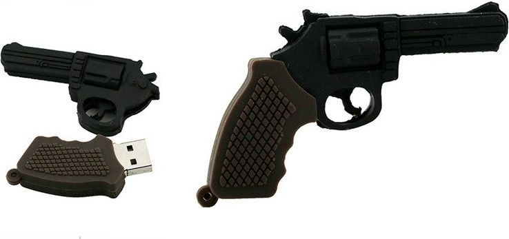 Pendrive Dr. Memory PENDRIVE REWOLWER BROŃ PAMIĘĆ 16GB uniwersalny 1
