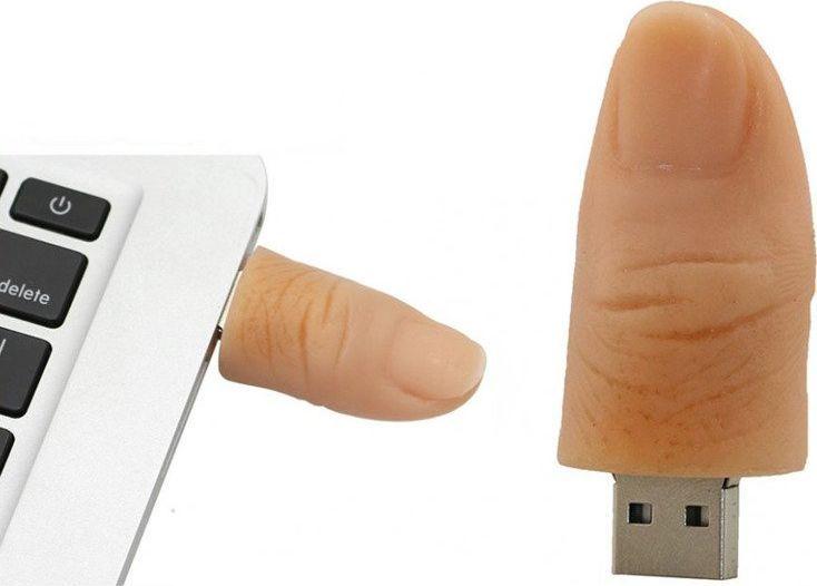 Pendrive Dr. Memory PENDRIVE KCIUK Palec USB Flash 16GB uniwersalny 1
