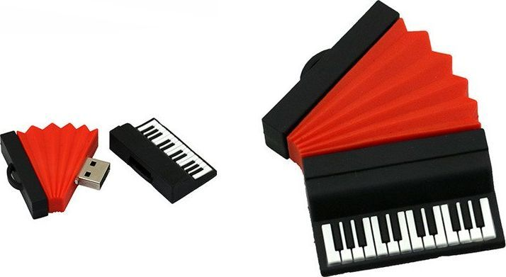 Pendrive Dr. Memory PENDRIVE AKORDEON USB PREZENT 32GB uniwersalny 1