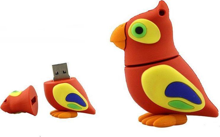 Pendrive Dr. Memory PENDRIVE PAPUGA PTAK PREZENT Flash PAMIĘĆ 16GB uniwersalny 1