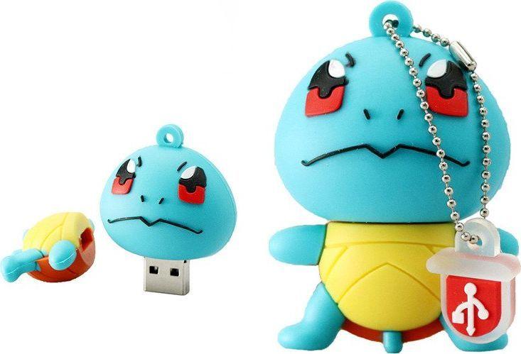 Pendrive Dr. Memory Pendrive SQUIRTLE Pokemon GO USB Flash Drive 16GB uniwersalny 1