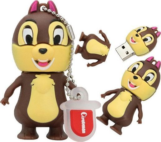 Pendrive Dr. Memory PENDRIVE CHIP I DALE Wiewiórka Flash 32GB uniwersalny 1
